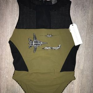New  Boys and Arrows Women's One Piece Suite
